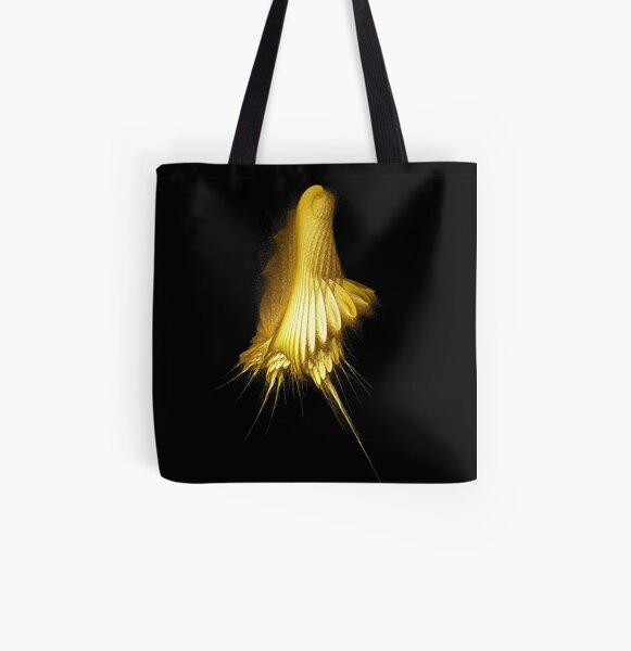 Humming bird All Over Print Tote Bag