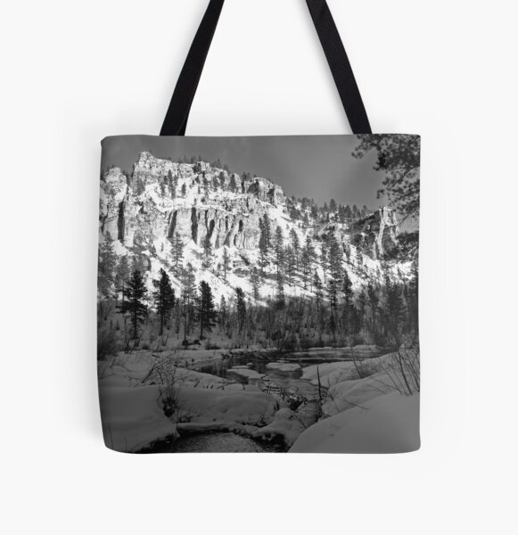 Spearfish Canyon All Over Print Tote Bag