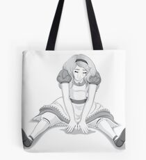 Tears at Nine Feet Tote Bag