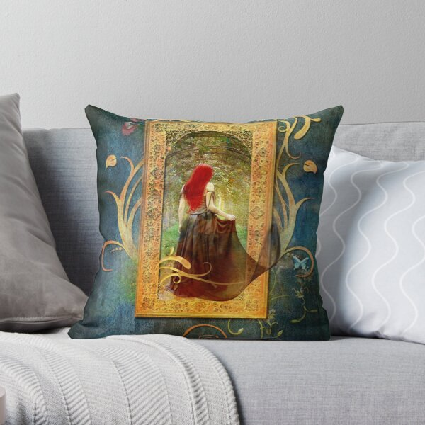 The Lost Song Throw Pillow