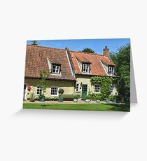 Walsingham Cottages Greeting Card