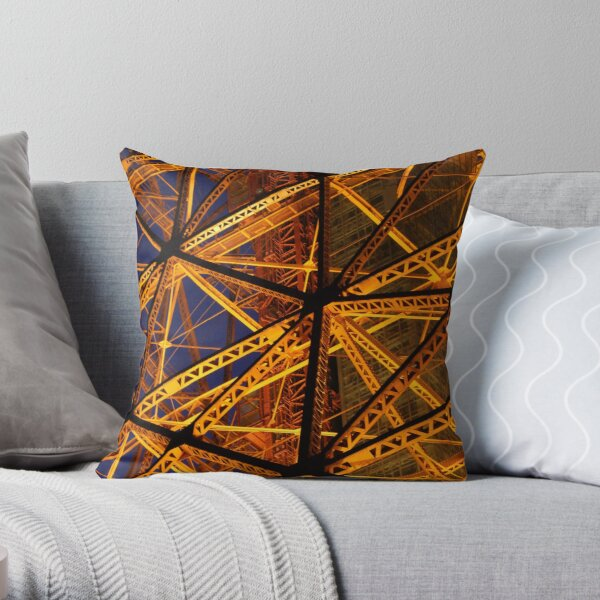 Tokyo Tower by night (1 of 3) Throw Pillow
