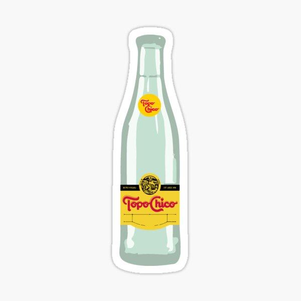 topo chico bottle Sticker