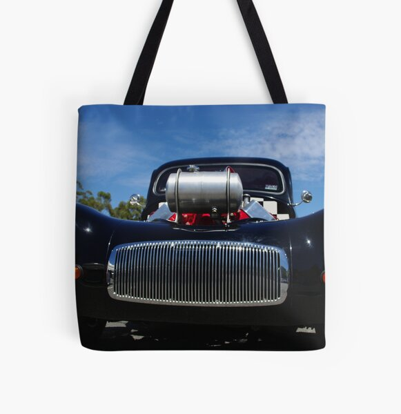 Hot Rod 6 All Over Print Tote Bag