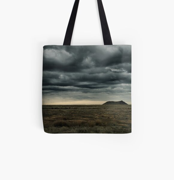 High Point of a Desert Afternoon All Over Print Tote Bag