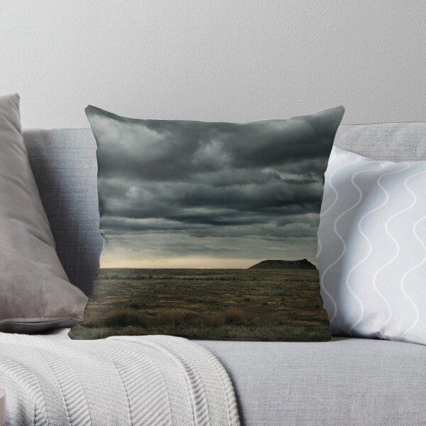 High Point of a Desert Afternoon Throw Pillow