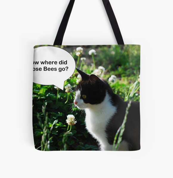 Where have the Bees gone? All Over Print Tote Bag