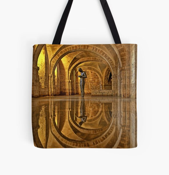 Cathedral Crypt - Winchester All Over Print Tote Bag