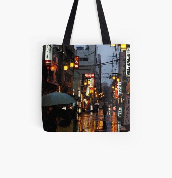 rain and light All Over Print Tote Bag