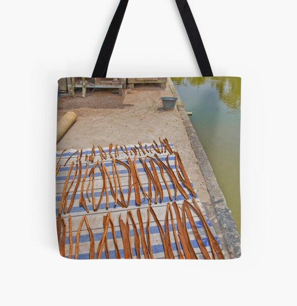 Drying cinnamon All Over Print Tote Bag