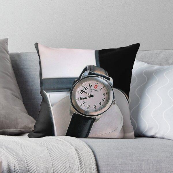 Catalog Watch Throw Pillow