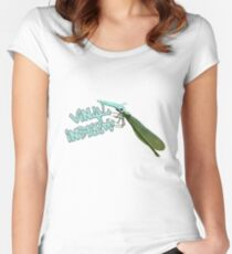 Vinyl insect Women's Fitted Scoop T-Shirt