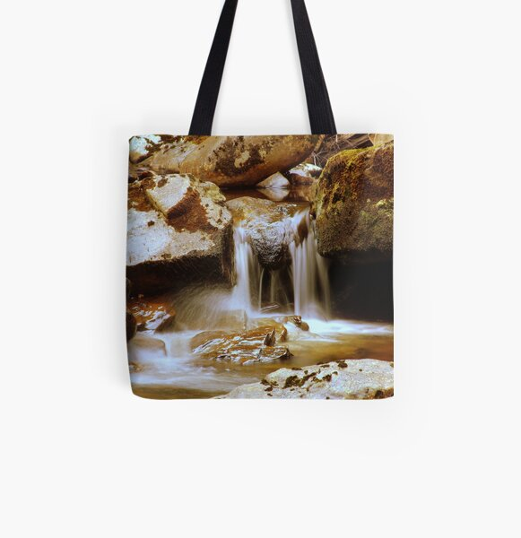 Rocks  and  Water All Over Print Tote Bag