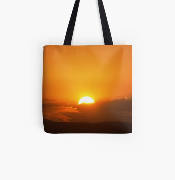 Sunset 3 All Over Print Tote Bag