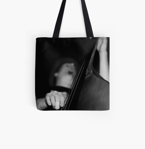 Bass Man All Over Print Tote Bag