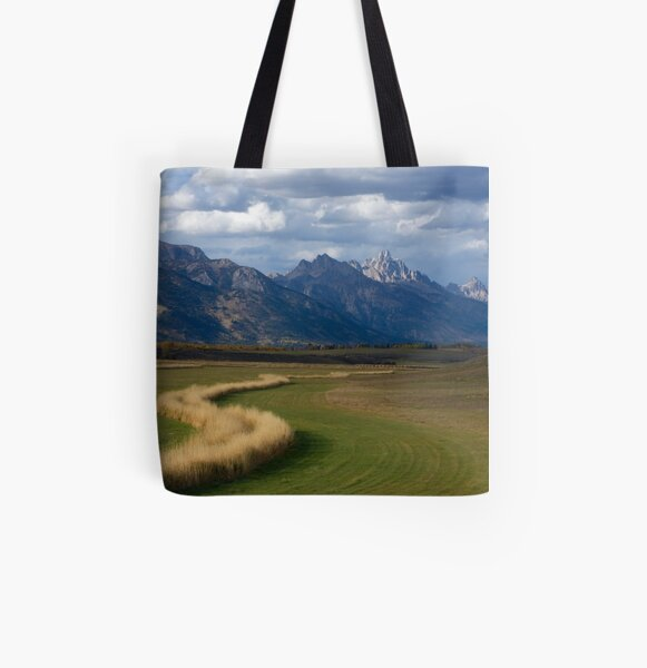 Curving To The Grand All Over Print Tote Bag