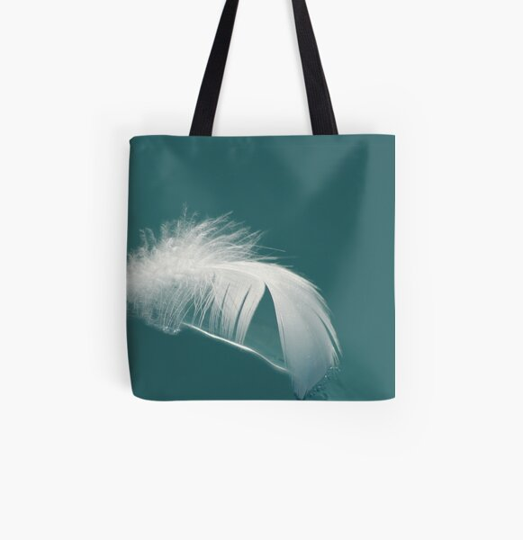 feather All Over Print Tote Bag