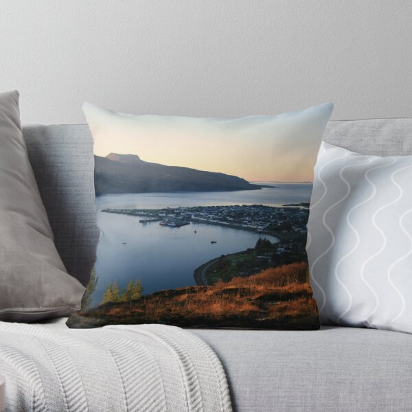 Ullapool Throw Pillow