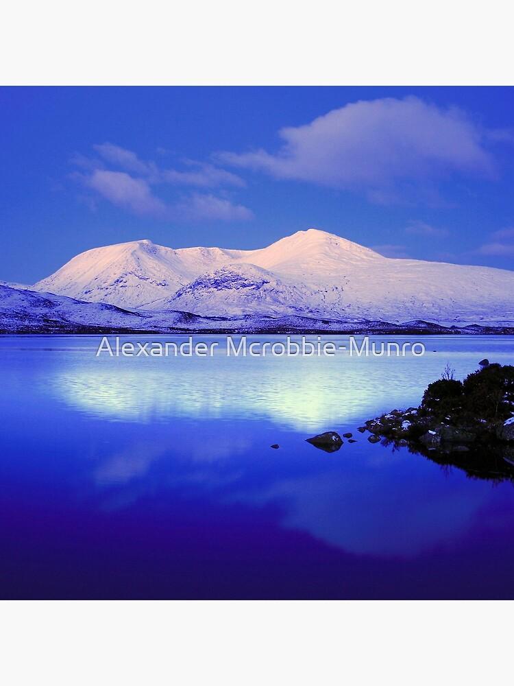 Blackmount Snow by Alexanderargyll