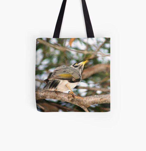 Bird All Over Print Tote Bag