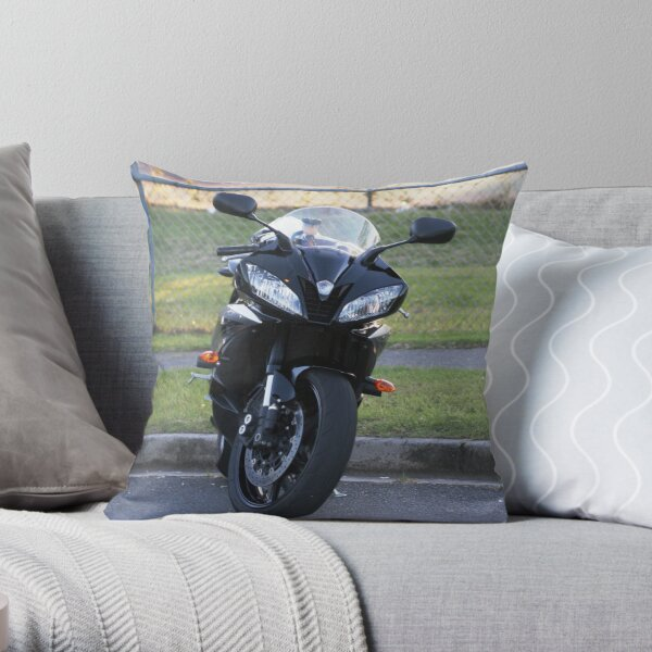 R6 Yamaha Throw Pillow
