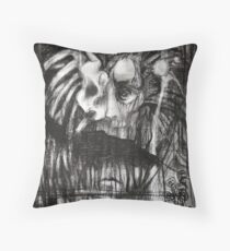 self portrait as sung by gira Throw Pillow