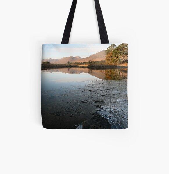 Loch Tulla All Over Print Tote Bag