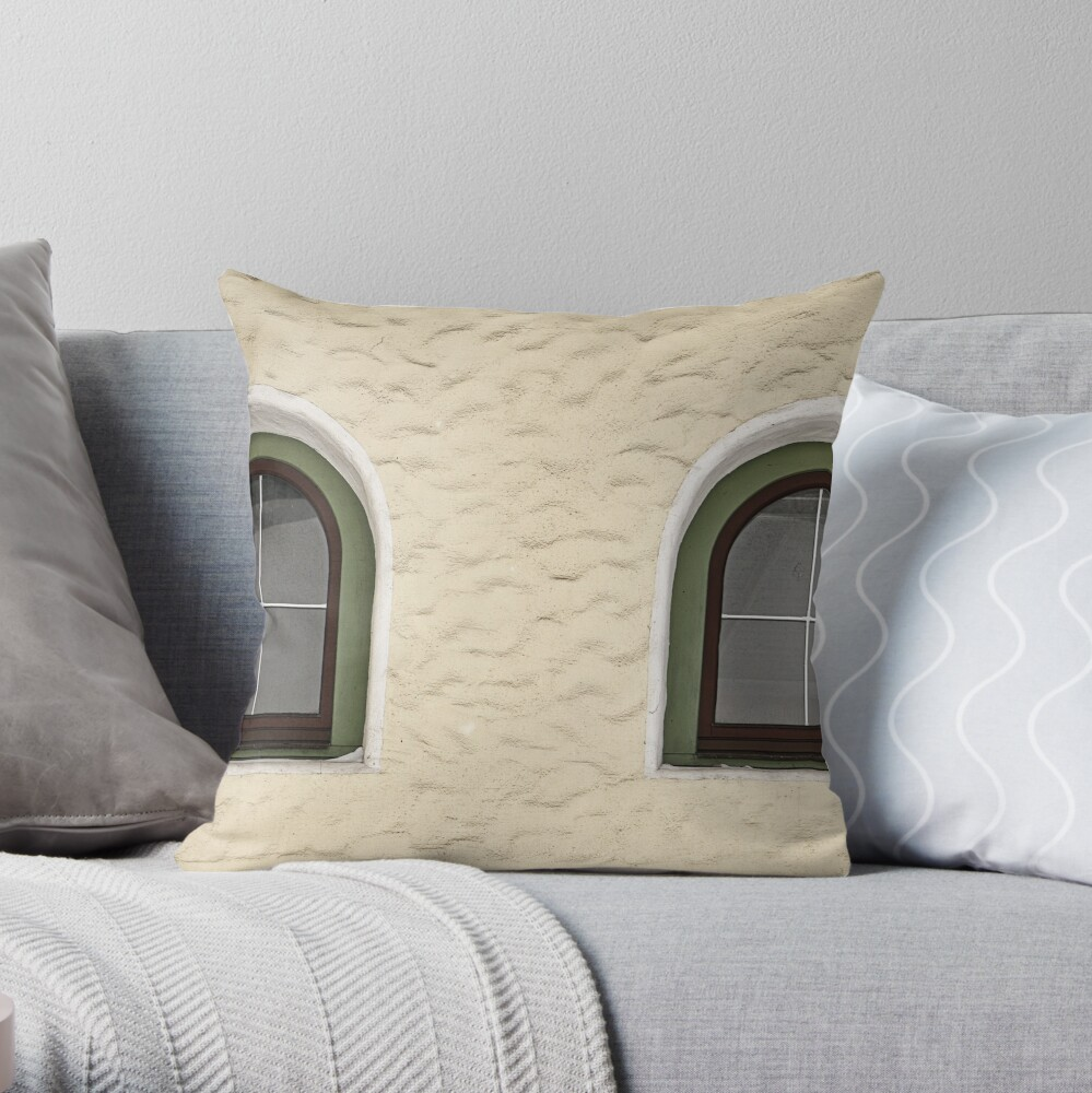 Finkenberg Windows Throw Pillow