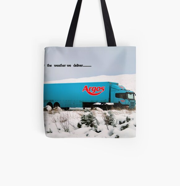 Argos All Over Print Tote Bag