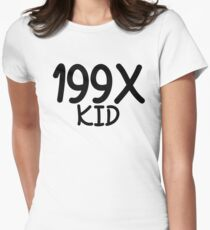 199X KID Women's Fitted T-Shirt