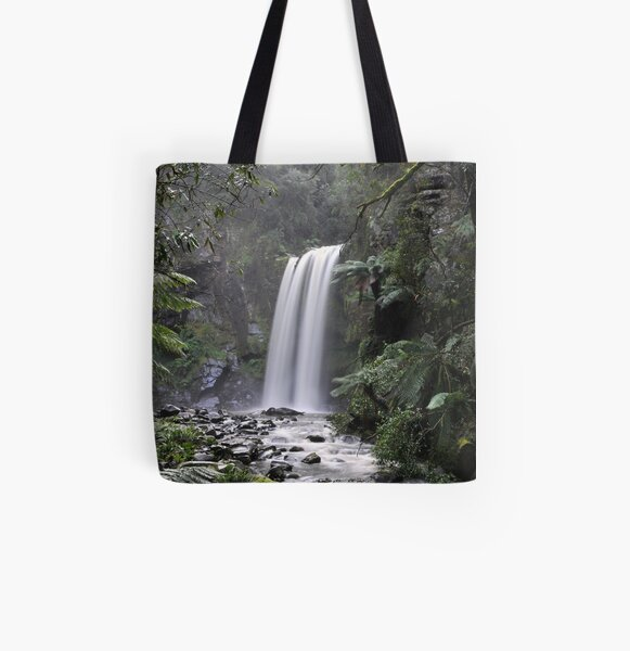 Hopetoun Falls All Over Print Tote Bag
