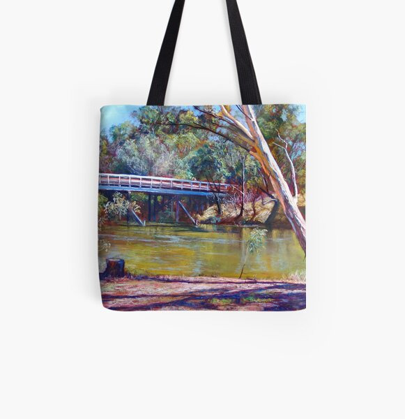 The Historic Goulburn Bridge - Seymour All Over Print Tote Bag