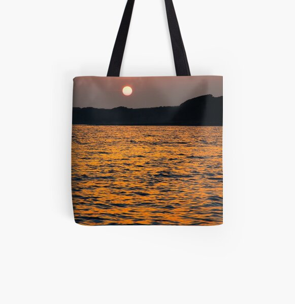 The Sun Goes Down 2 All Over Print Tote Bag