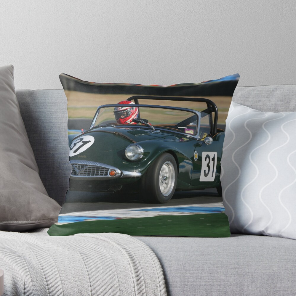Daimler SP Throw Pillow