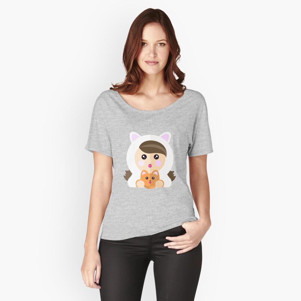 Soy una ladycat Camiseta ancha