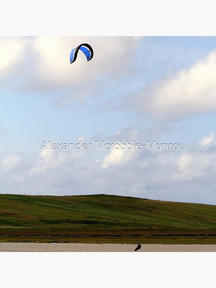 Kite-Surfer by Alexanderargyll
