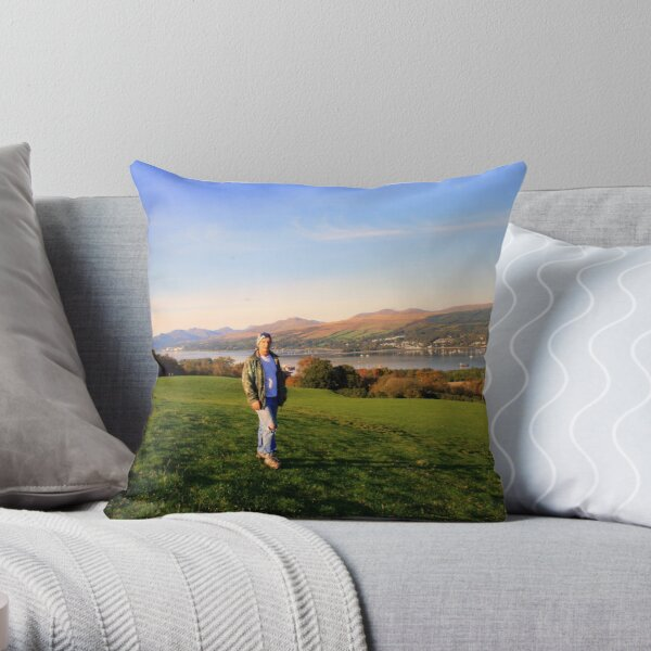 Egostistical :-) Throw Pillow