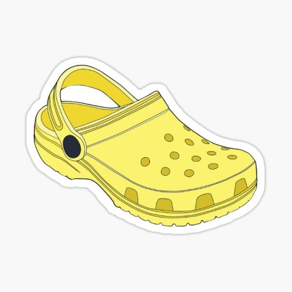 Yellow Croc Sticker