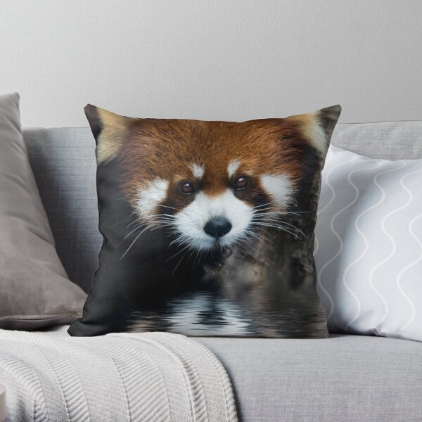 Early Morning Drink Throw Pillow