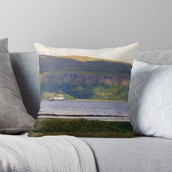 Calmac 2 Throw Pillow