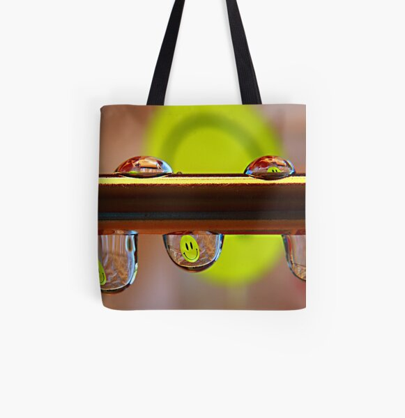 Be Happy! All Over Print Tote Bag