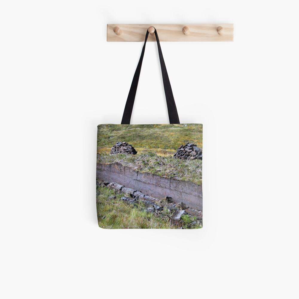 Peat-Stacks Tote Bag