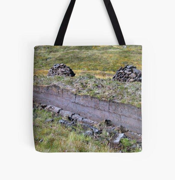 Peat-Stacks All Over Print Tote Bag