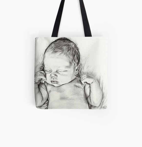 Gracie All Over Print Tote Bag