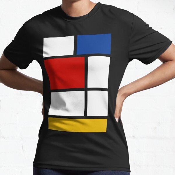 De Stijl #1 (Mondrian Inspired)  Active T-Shirt