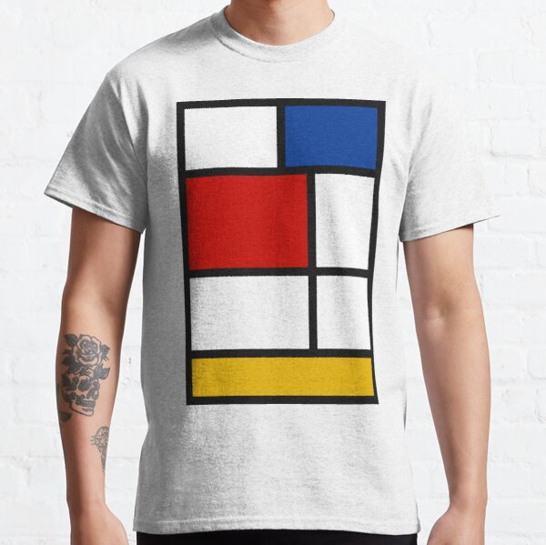De Stijl #1 (Mondrian Inspired)  Classic T-Shirt