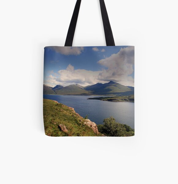 Loch  na  Keal All Over Print Tote Bag