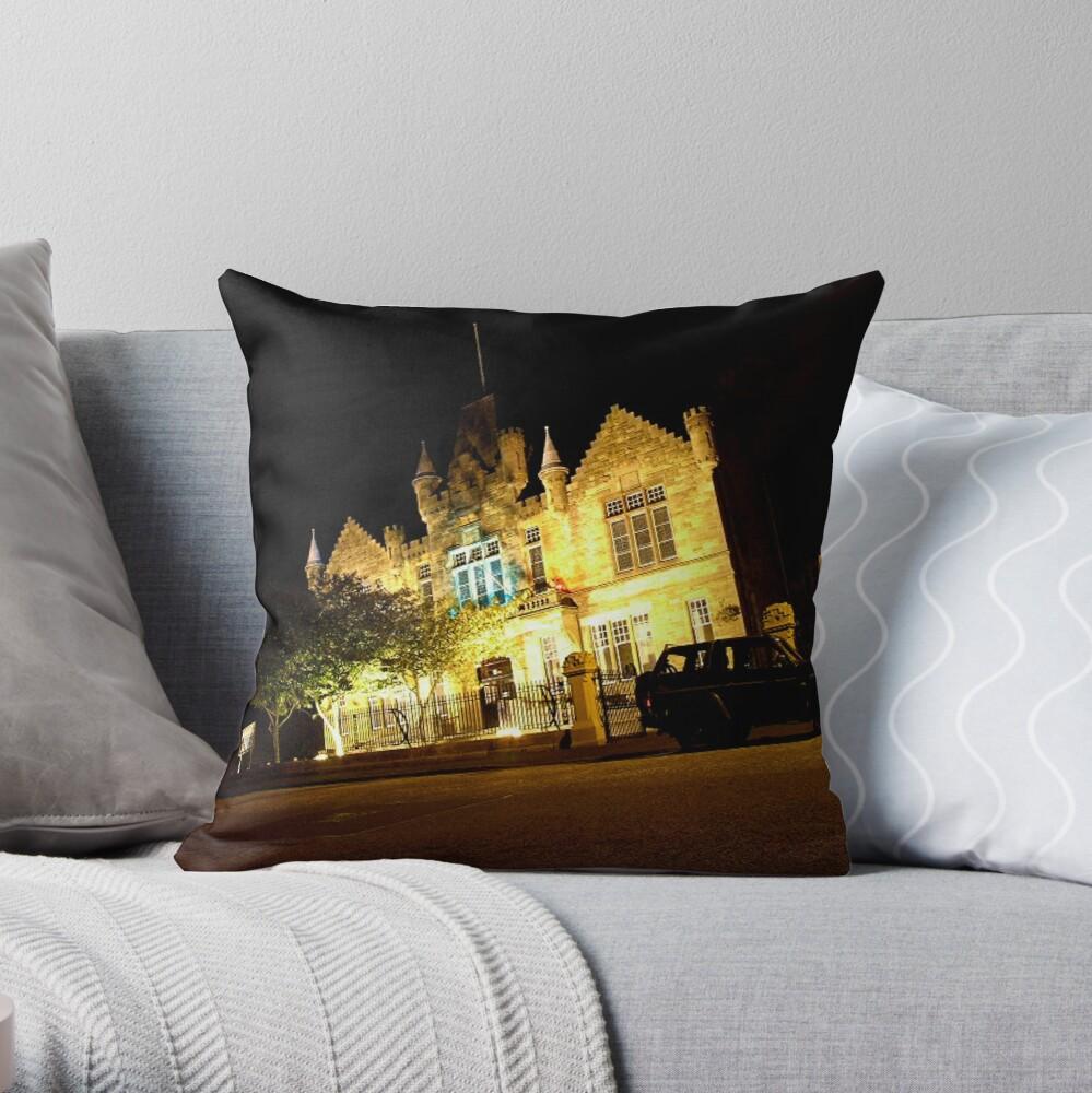 Victoria Halls Helensburgh Throw Pillow