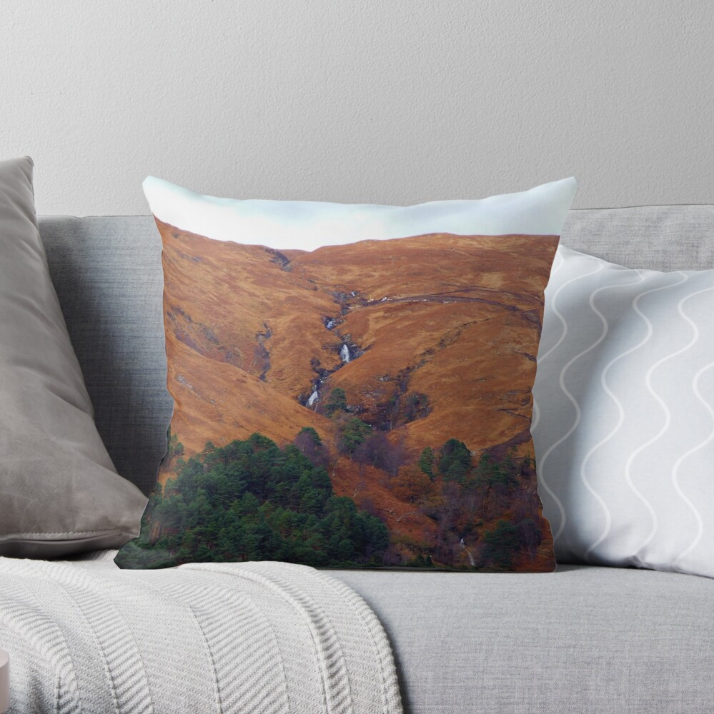 Ardnamurchan 4 Throw Pillow