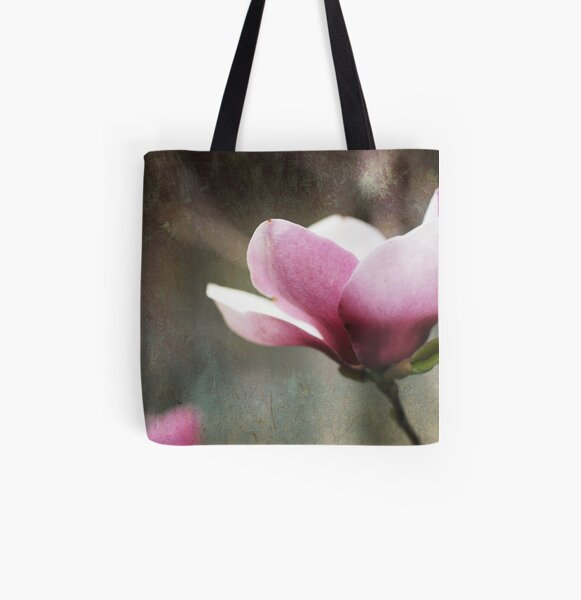 Tulip Tree All Over Print Tote Bag